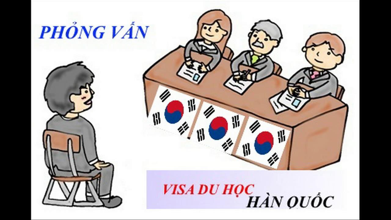 45 câu hỏi cần chuẩn bị trước khi phỏng vấn xin visa du học Hàn Quốc