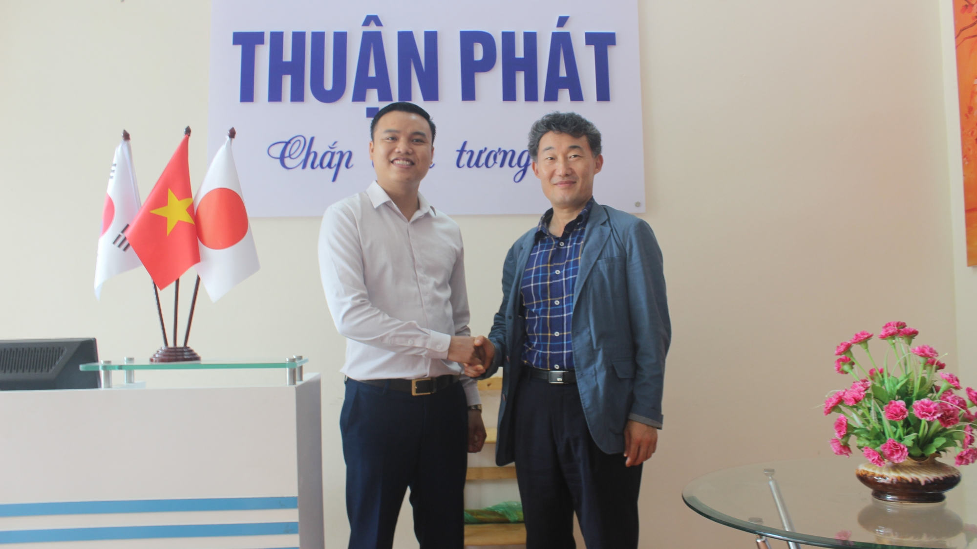 THUAN PHAT COOPERATES WITH ANSAN UNIVERSITY