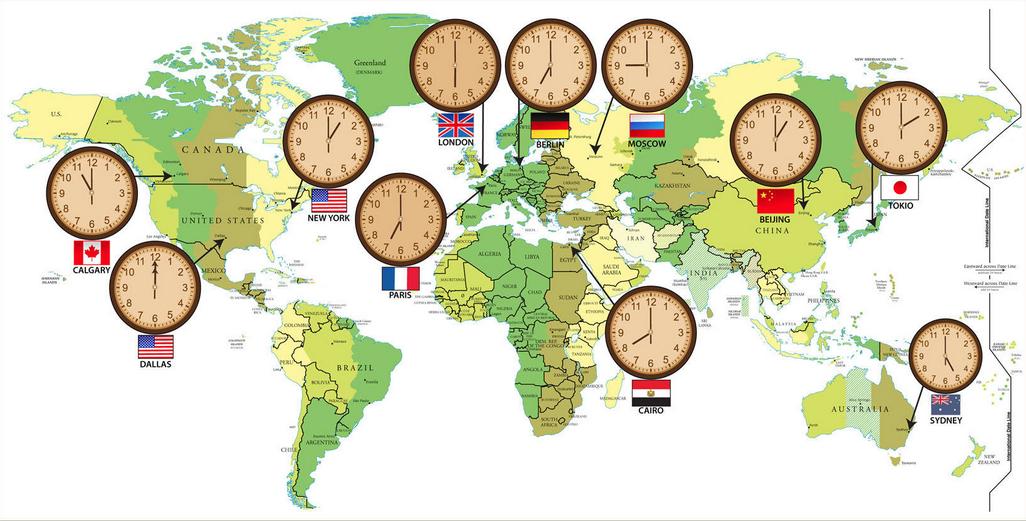 Tìm hiểu về múi giờ của Hàn Quốc? Chênh lệch với giờ ở Việt Nam là bao nhiêu?