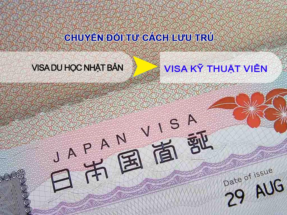 Hướng dẫn chuyển đổi visa du học sang visa làm việc tại Nhật Bản