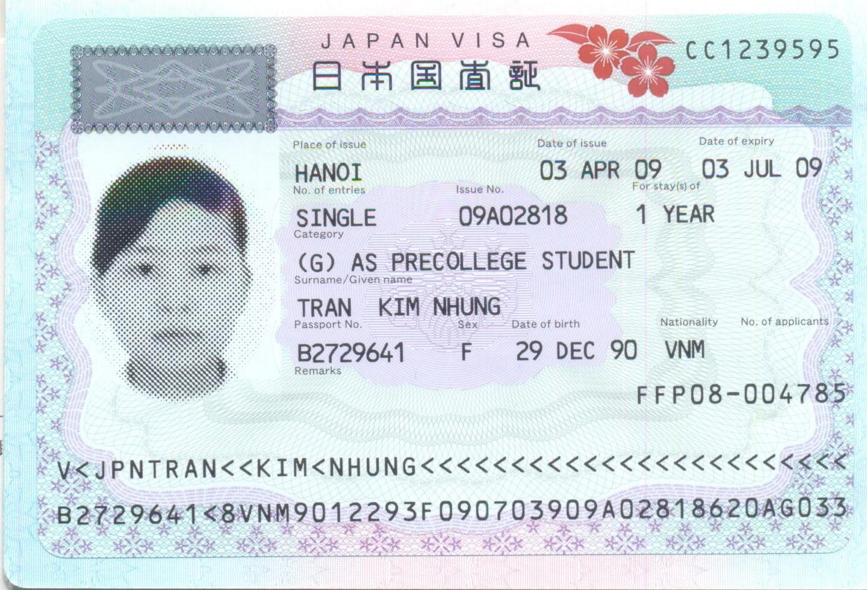 Xin Visa du học Nhật Bản có khó không?