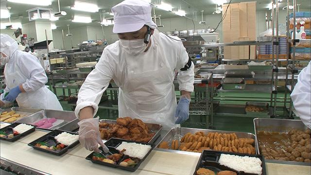 T6/2017 - Tuyển đơn hàng chế biến thực phẩm - Chế biến đồ ăn kèm tại Nhật Bản
