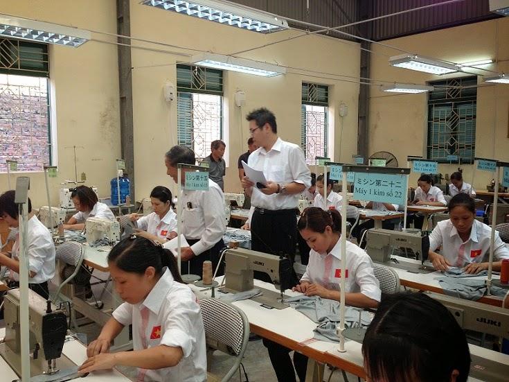 T5/2017 - Tuyển 8 nữ may hoàn thiện áo sơ mi làm việc tại Nhật Bản